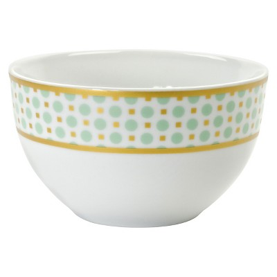 10 Strawberry Street Pirouette Cereal Bowl Set of 4 - Mint