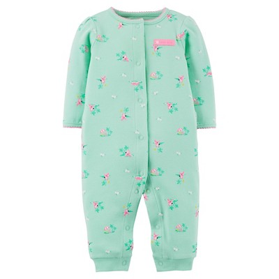Just One You™Made by Carter's® Newborn Girls' Footless Sleeper - Green 3 M