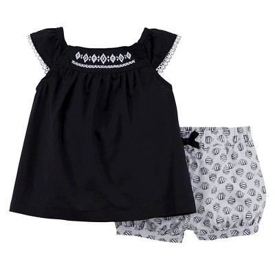 Just One You™Made by Carter's® Newborn Girls' 2 Piece Set - Black Currant 9 M