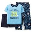 Just One You™ Made by Carter's&#174 Toddler Boys' 3-Piece Mix & Match Gator Pajama Set