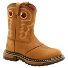 Kid's Rocky® Lug Sole Cowboy Boots - Tan