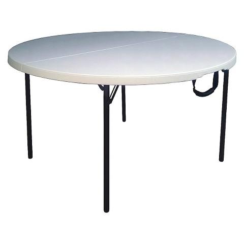 folding table off white target. Black Bedroom Furniture Sets. Home Design Ideas