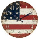 Yosemite Circular Wooden Wall Clock