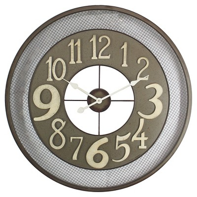 Yosemite Iron Wall Clock