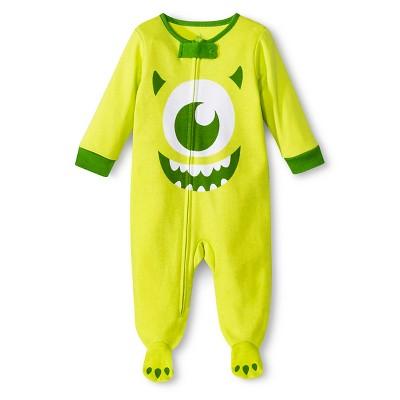 Disney® Newborn Boys'Monsters Inc. Sleep N' Play - Green 0-3M