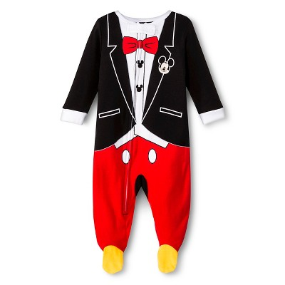 Disney® Newborn Boys' Mickey Mouse Sleep N' Play 6-9 M
