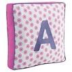 Letter Pillow - Pink/Purple