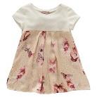 Chicco® Newborn Girls' Butterfly Tee - Pink/Cream