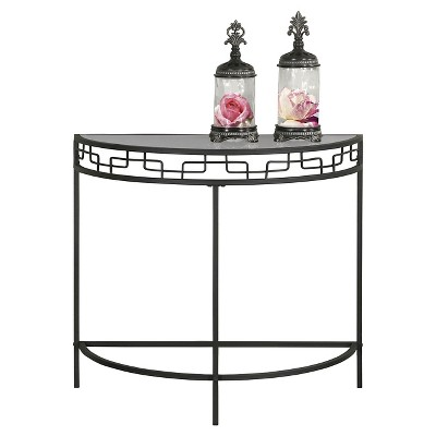 Accent Console Table - Charcoal - Monarch Specialties