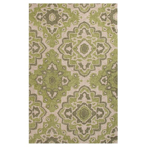 Jaipur Indoor Outdoor Moroccan Pattern Rug Tar