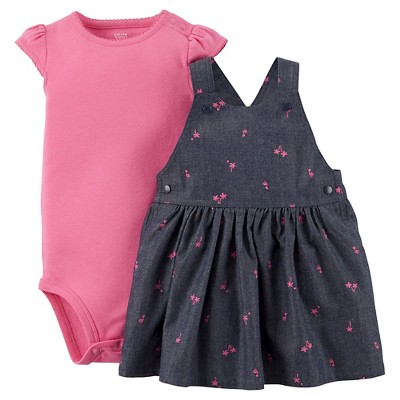 Just One You™Made by Carter's® Newborn Girls' 2 Piece Jumper Set - Pink/Blue 9 M