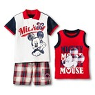 Disney® Mickey Mouse Toddler Boys' 3-Piece Set - Red