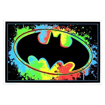 Art.com Batman Logo Blacklight  Poster