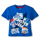 Monster Jam Toddler Boys Tee - Royal