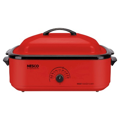 Nesco® 18 Qt. Roaster Oven - Red