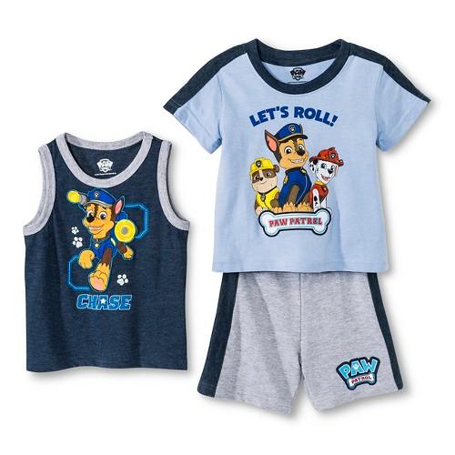 ... Patrol Toddler Boys' 3 Piece Activewear Set Light Blue Heather   eBay