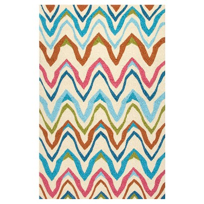 Colorful Abstract Rugs Abstract Chevron Rug