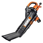 WORX 3 in 1 System. Vacuum, Blower, Mulcher with 2-Stage Impeller