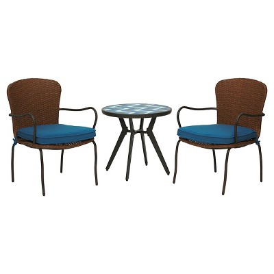 Winston 3-Piece Wicker Bistro Set