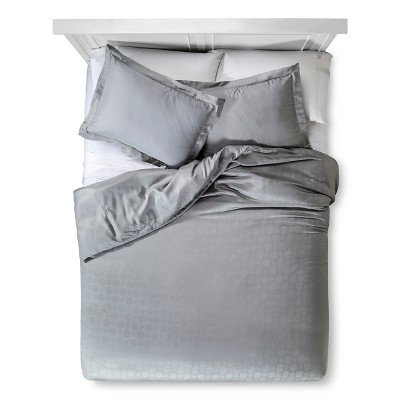 Tencel® Duvet Set - Silver (Queen)