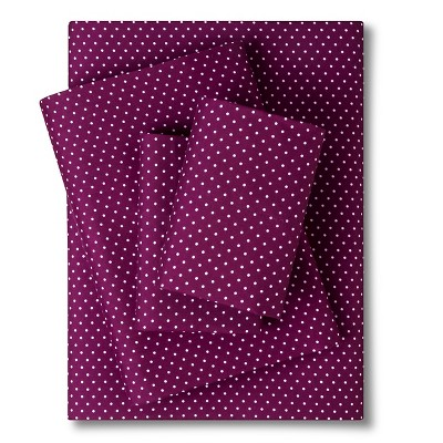 Sheet Set Purple Non-woven Fabric QUEEN