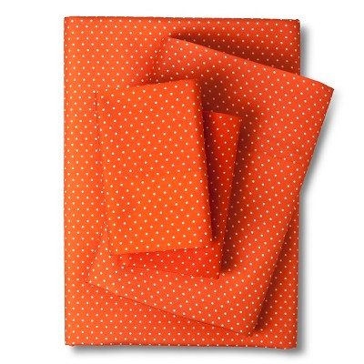 Grand Dot Sheet Set - Orange (Full)