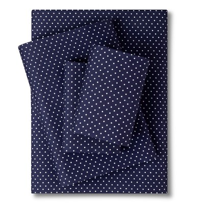 Grand Dot Sheet Set - Navy (King)