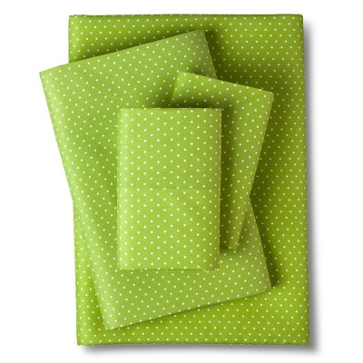 Grand Dot Sheet Set - Green (King)