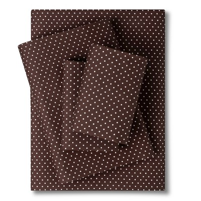 Sheet Set Chocolate Non-woven Fabric FULL