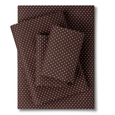Grand Dot Sheet Set - Brown (Queen)