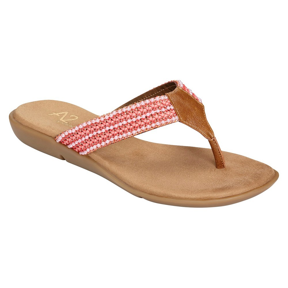 bb2fa0b11127 Photo for Women s A2 by Aerosoles Good Save Thong Sandals - Pink 8