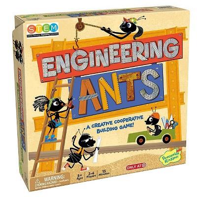 Engineering Ants Building Game