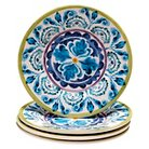 "Certified International Mood Indigo Salad Plate Set of 4 (8.75"")"