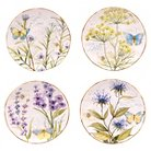 "Certified International Herb Garden Dessert Plate Set of 4 4 (8.75"")"