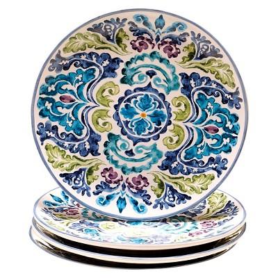 Ecom Plates Certified Internatio Blue White Green Lavender Galaxy