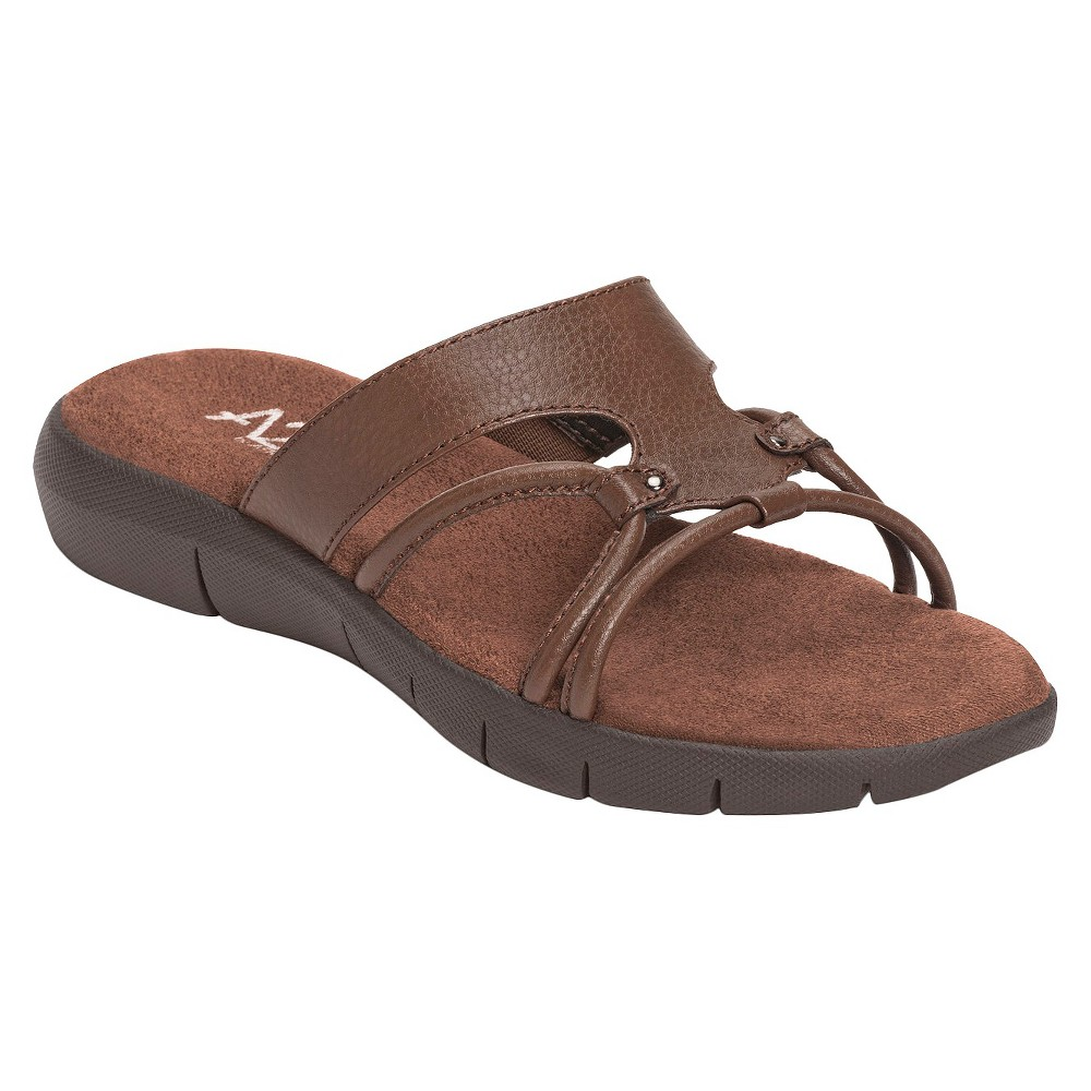 b21891c91b717 Photo for Women s A2 by Aerosoles Wip Current Slip-on Sandals - Brown 12W