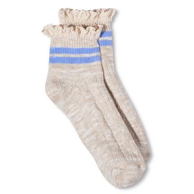 Women's Legale Fashion Ankle Socks Oatmeal