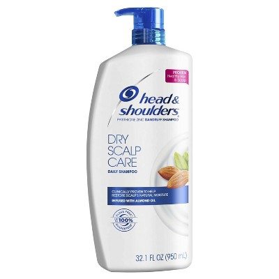 Head & Shoulders® Dry Scalp Care Dandruff Shampoo with Almond Oil 33.8 Fl Oz