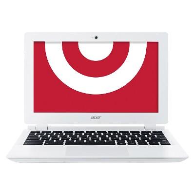 Acer® 11.6  16 GB Chromebook - White