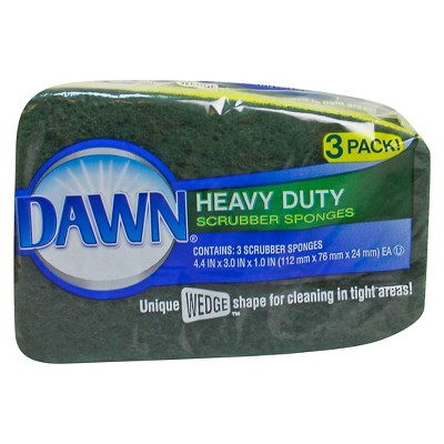 Dawn Heavy Duty Cellulose Sponges 3 pack