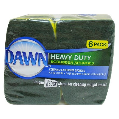 Dawn Heavy Duty Cellulose Sponges 6 pack