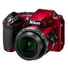 Nikon Coolpix L840 16.1MP Digtial Camera with 38X Optical Zoom - Red