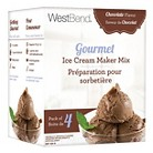 West Bend Gourmet Ice Cream Maker Mix  Chocolate