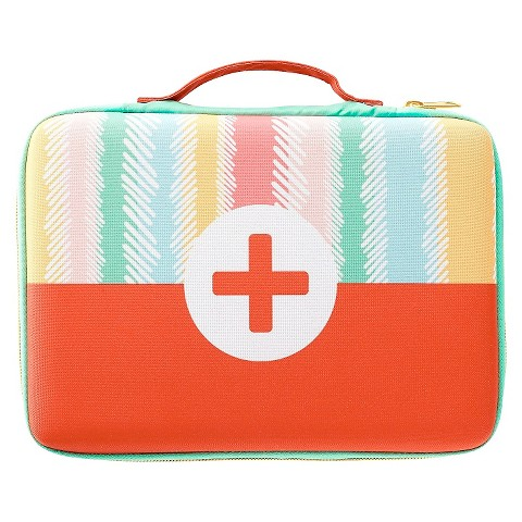 oh joy striped first aid bag target. Black Bedroom Furniture Sets. Home Design Ideas