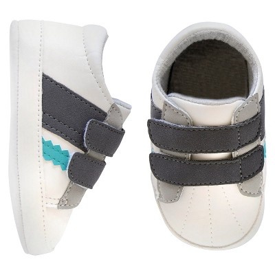 Newborn Boys' Sneaker - White 3-6 M