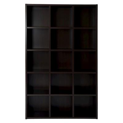 Boraam Techny Kline Bookcase - Espresso