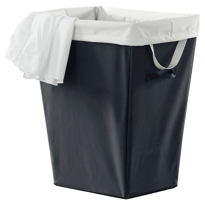 Room Essentials™ Laundry Hamper - Ebony with White Liner