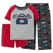 Just One You™ Made by Carter's&#174 Toddler Boys' 3-Piece Mix & Match Truck Pajama Set