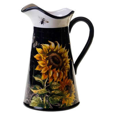 Certified International French Sunflowers Pitcher (2.75 qt.)