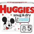 HUGGIES® Snug & Dry Diapers Jumbo Pack - Size 5 (25 Count)